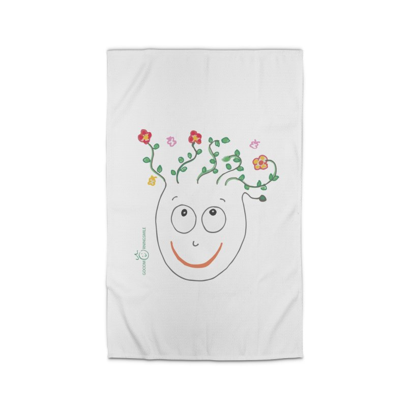 ThinkingGreen Smile Home Rug by Good Morning Smile