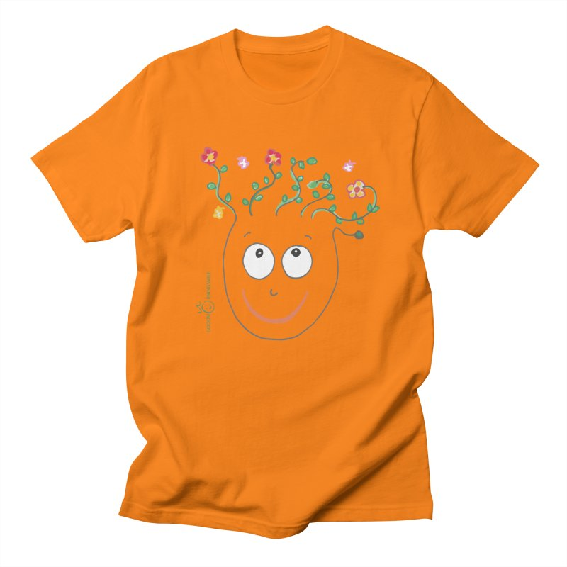ThinkingGreen Smile Men's T-Shirt by Good Morning Smile