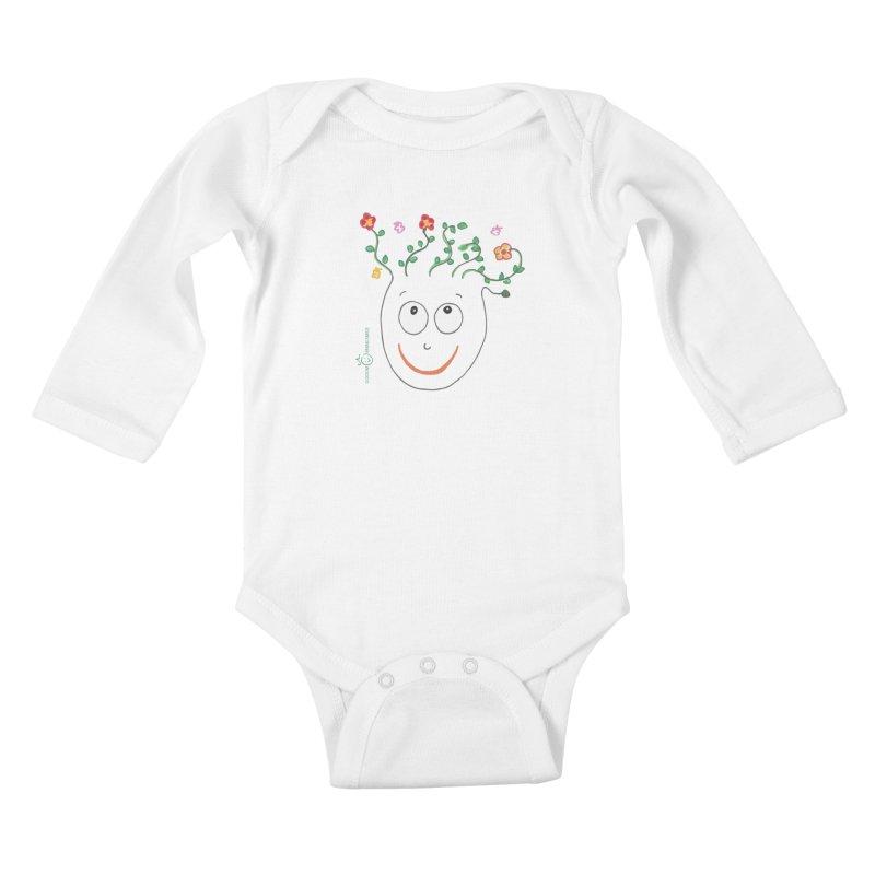 ThinkingGreen Smile Kids Baby Longsleeve Bodysuit by Good Morning Smile