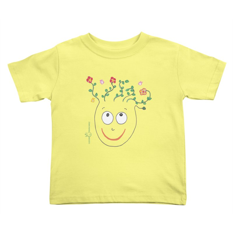 ThinkingGreen Smile Kids Toddler T-Shirt by Good Morning Smile