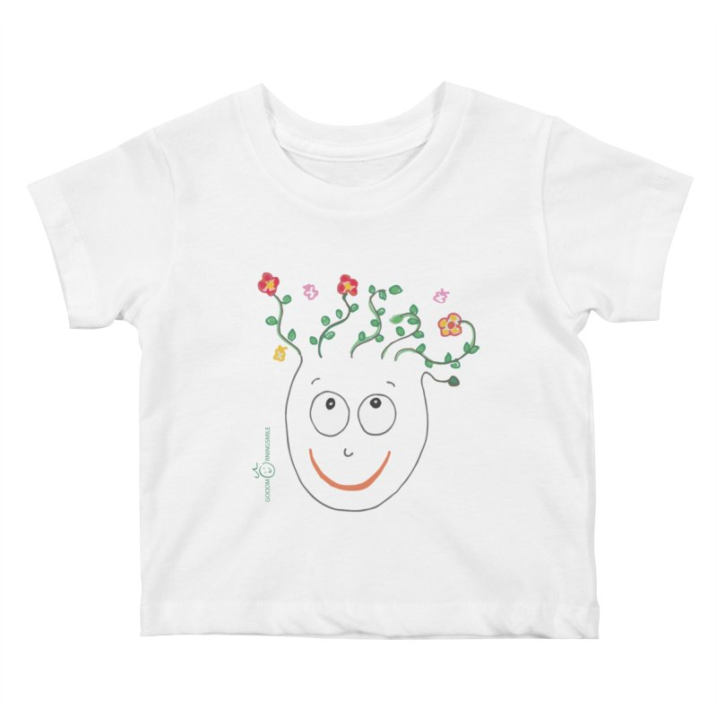 ThinkingGreen Smile Kids Baby T-Shirt by Good Morning Smile