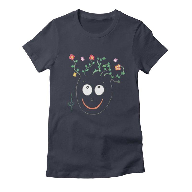 ThinkingGreen Smile Women's T-Shirt by Good Morning Smile