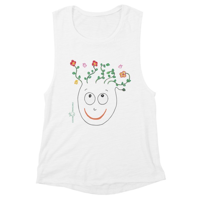 ThinkingGreen Smile Women's Tank by Good Morning Smile