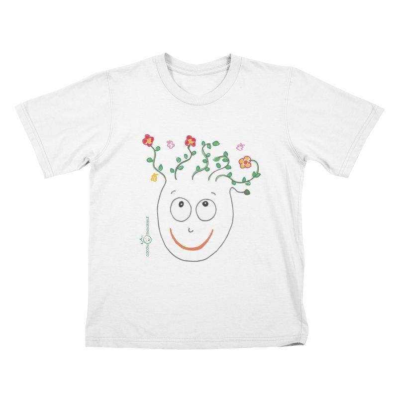 ThinkingGreen Smile Kids T-Shirt by Good Morning Smile