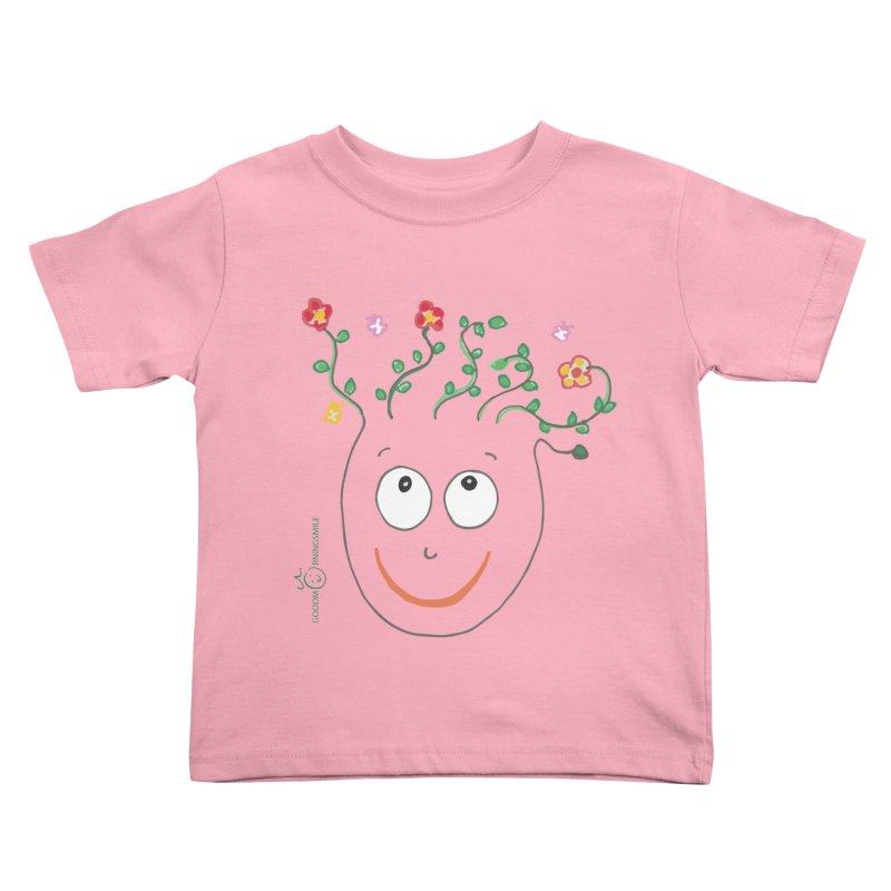 ThinkingGreen Smile Kids Toddler T-Shirt by Good Morning Smile