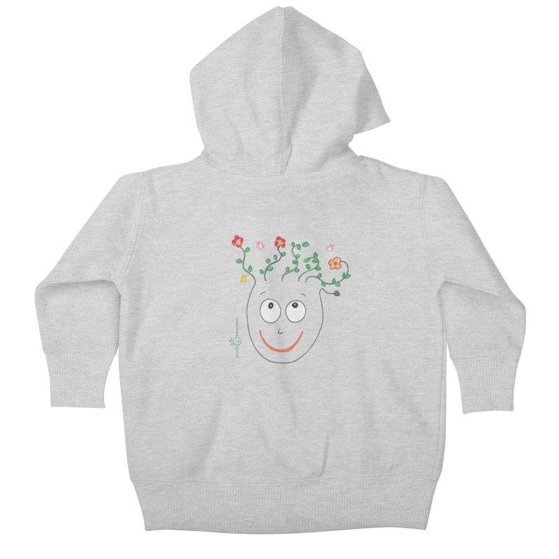 ThinkingGreen Smile Kids Baby Zip-Up Hoody by Good Morning Smile