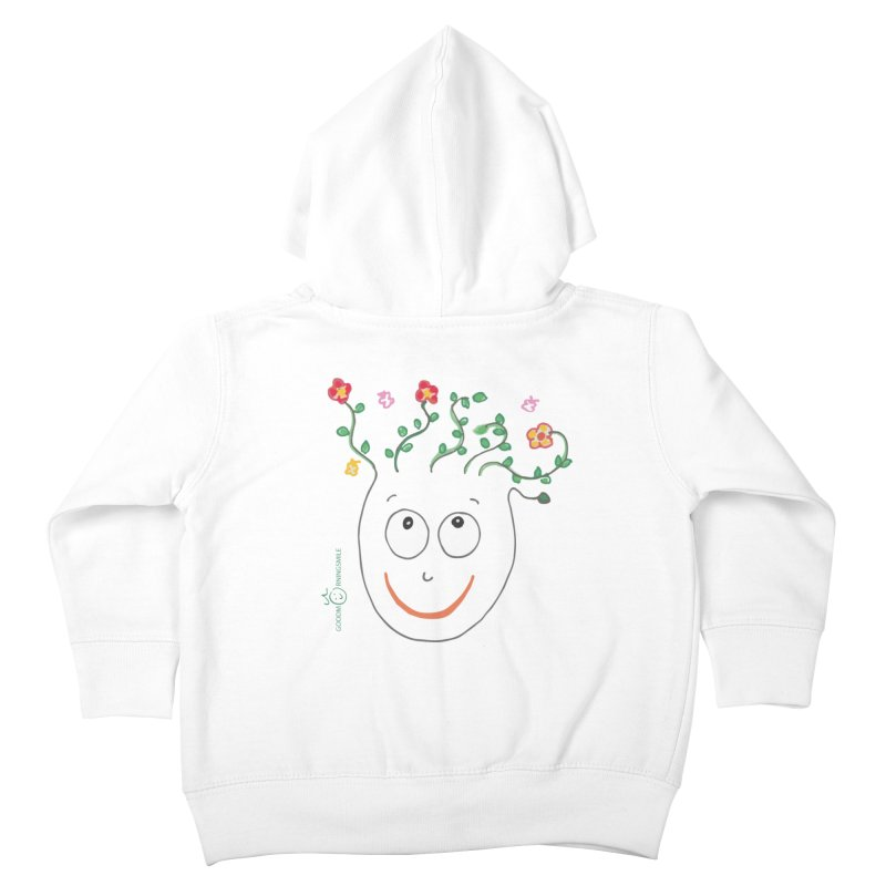 ThinkingGreen Smile Kids Toddler Zip-Up Hoody by Good Morning Smile