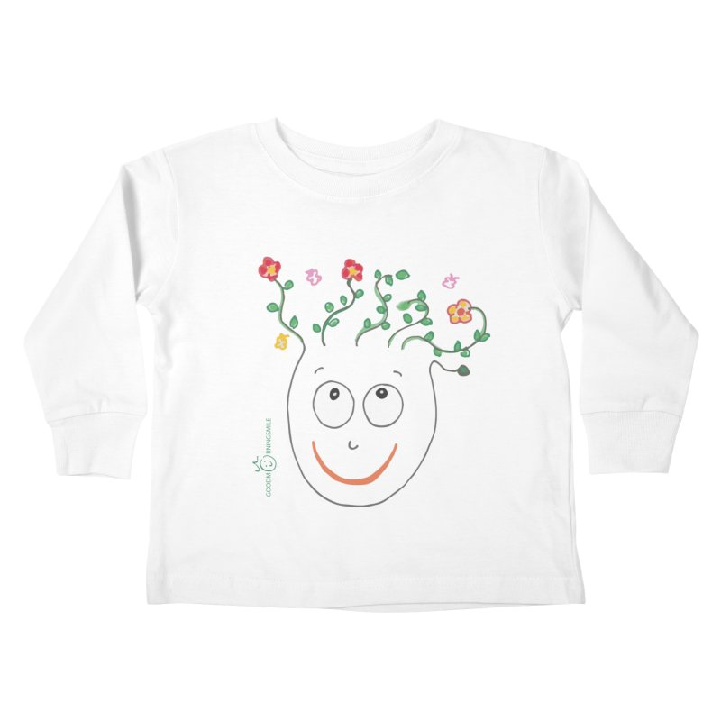 ThinkingGreen Smile Kids Toddler Longsleeve T-Shirt by Good Morning Smile