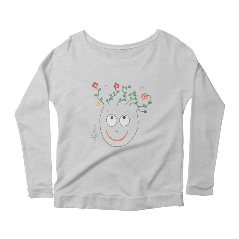 ThinkingGreen Smile Women's Longsleeve T-Shirt by Good Morning Smile