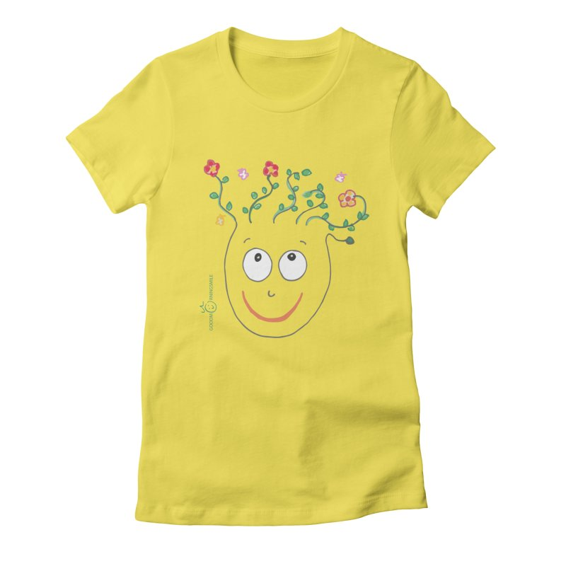 ThinkingGreen Smile Women's T-Shirt by Good Morning Smile