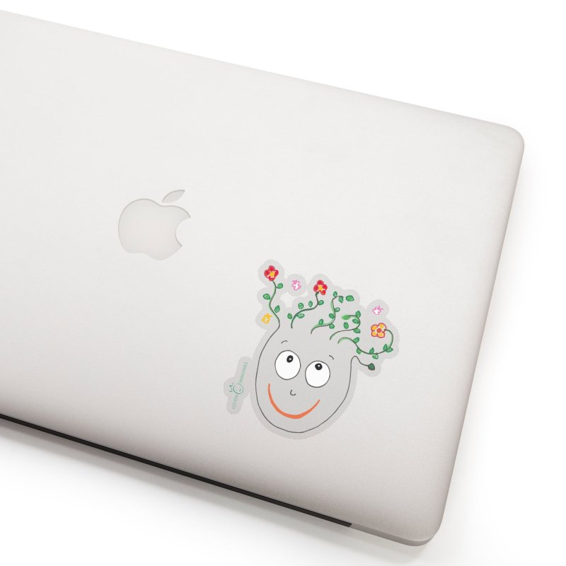 ThinkingGreen Smile Accessories Sticker by Good Morning Smile