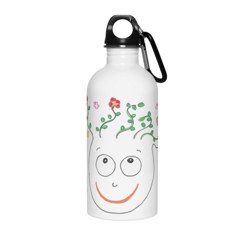ThinkingGreen Smile Accessories Water Bottle by Good Morning Smile