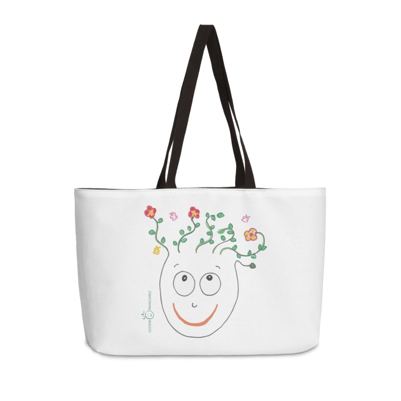 ThinkingGreen Smile Accessories Weekender Bag Bag by Good Morning Smile