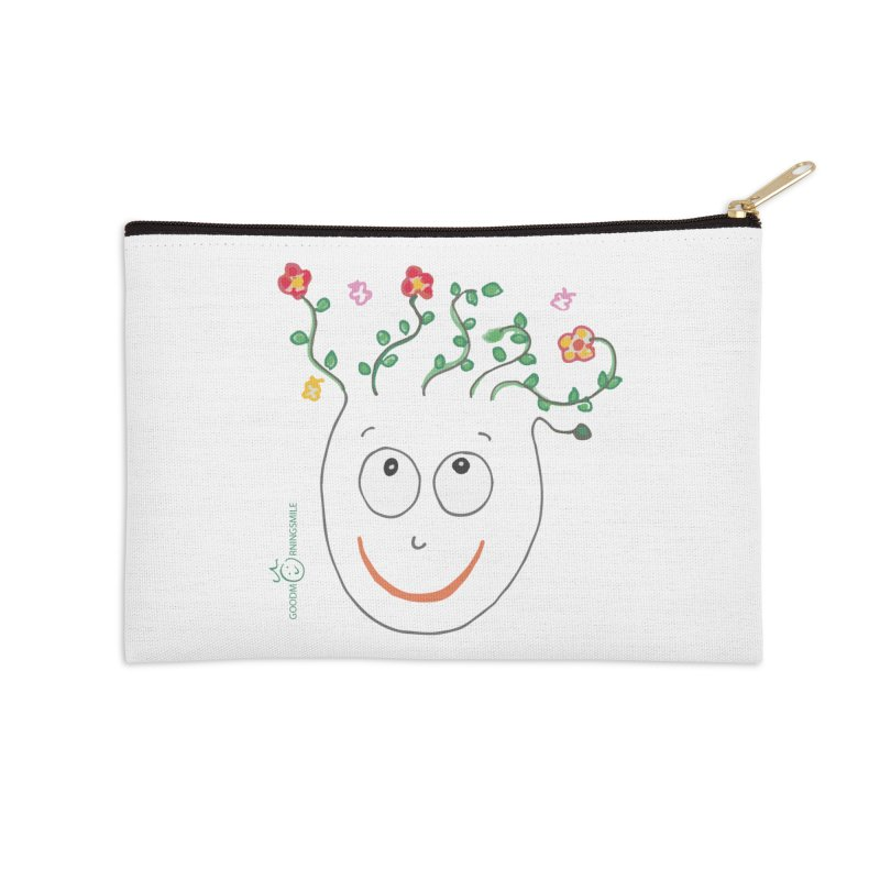 ThinkingGreen Smile Accessories Zip Pouch by Good Morning Smile