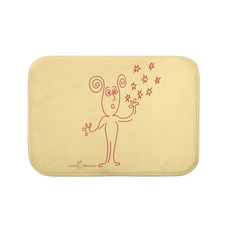 Wondering Home Bath Mat by Good Morning Smile