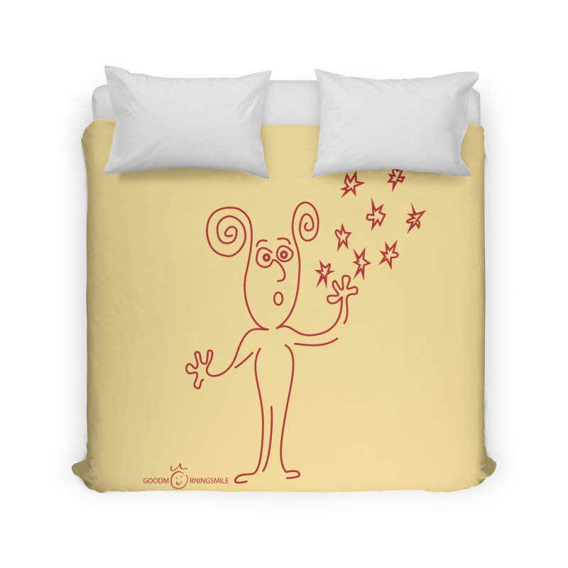 Wondering Home Duvet by Good Morning Smile