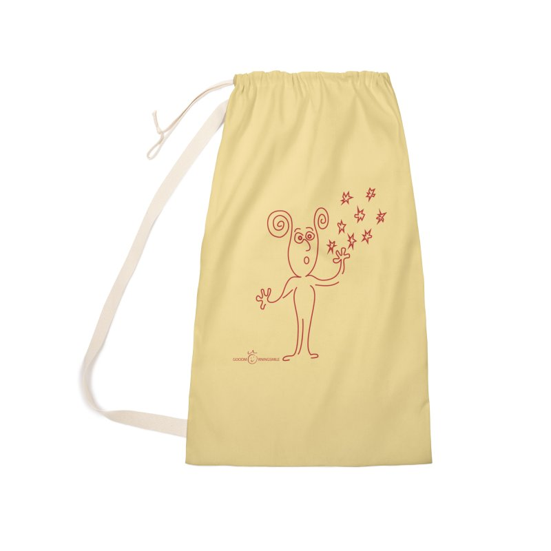 Wondering Accessories Laundry Bag Bag by Good Morning Smile