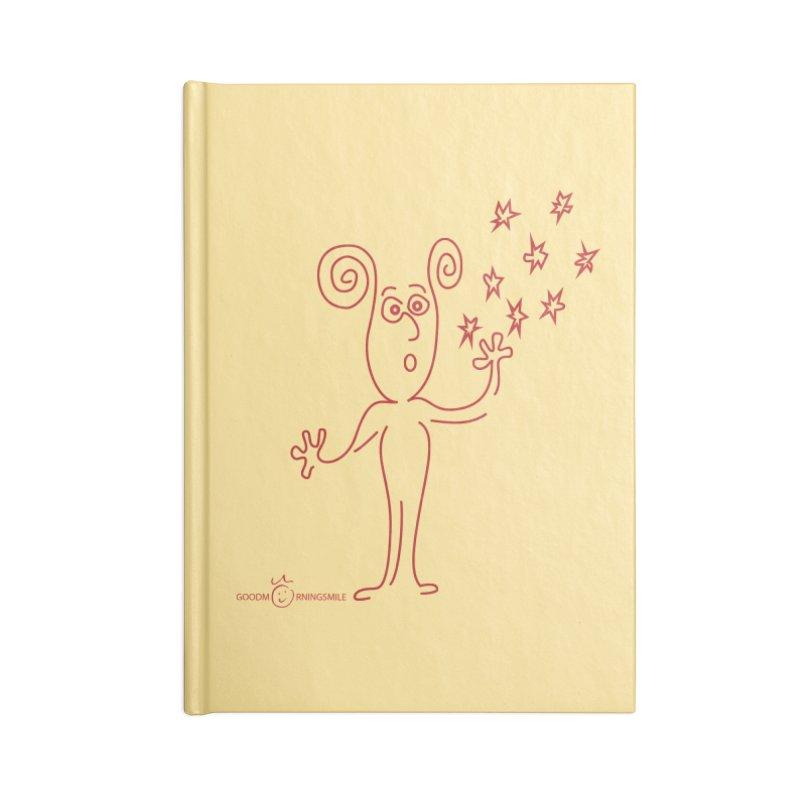 Wondering Accessories Lined Journal Notebook by Good Morning Smile