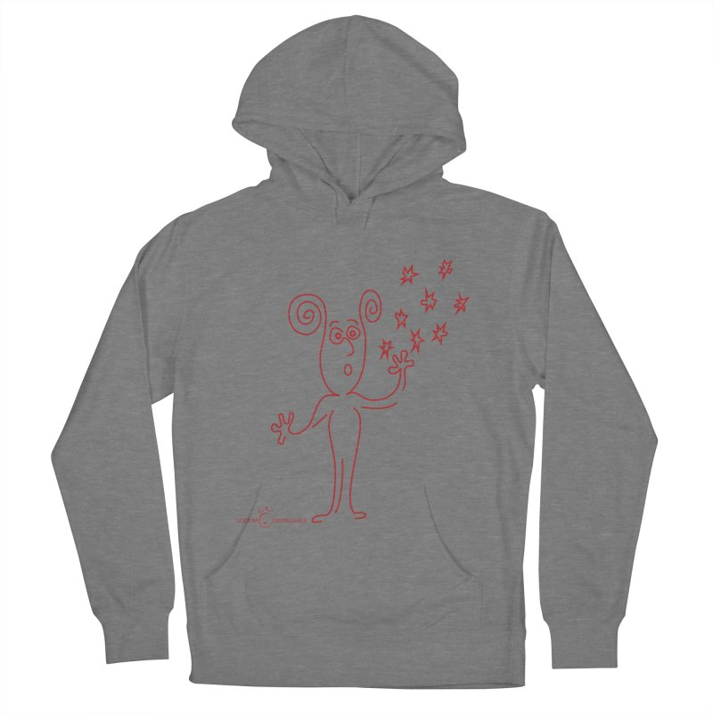 Wondering Women's Pullover Hoody by Good Morning Smile