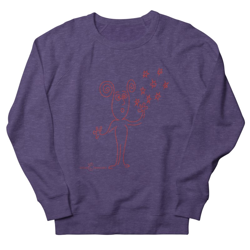 Wondering Women's French Terry Sweatshirt by Good Morning Smile