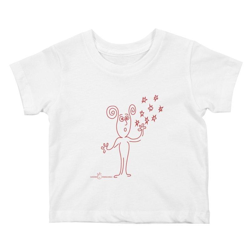 Wondering Kids Baby T-Shirt by Good Morning Smile