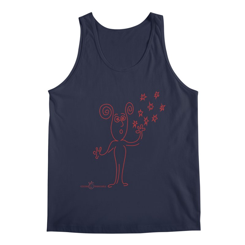 Wondering Men's Regular Tank by Good Morning Smile