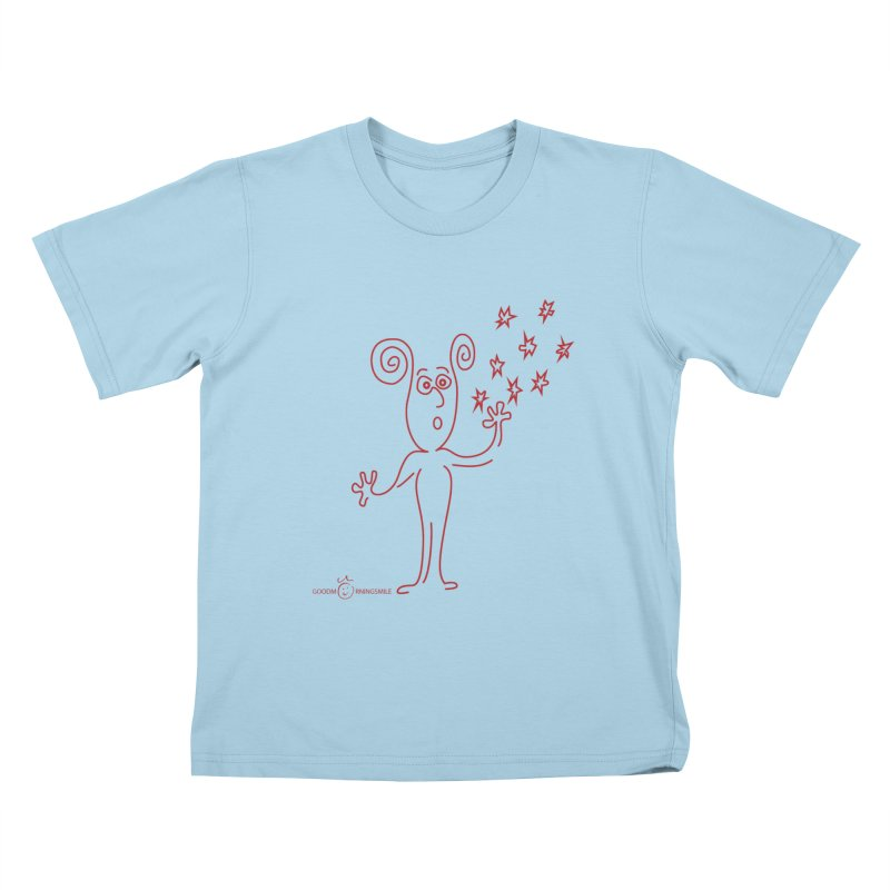 Wondering Kids T-Shirt by Good Morning Smile