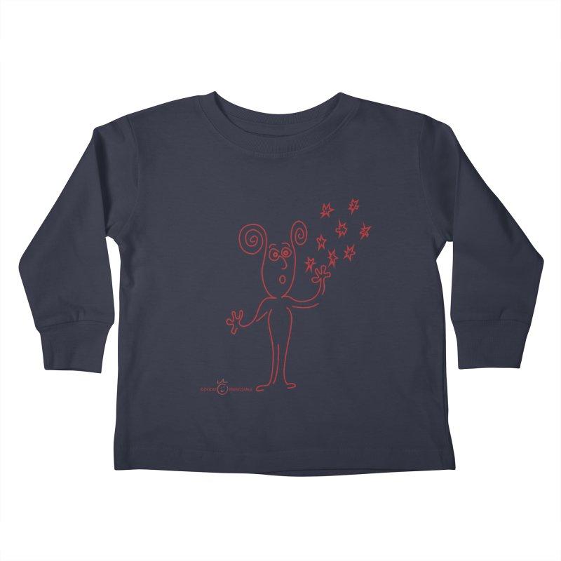 Wondering Kids Toddler Longsleeve T-Shirt by Good Morning Smile