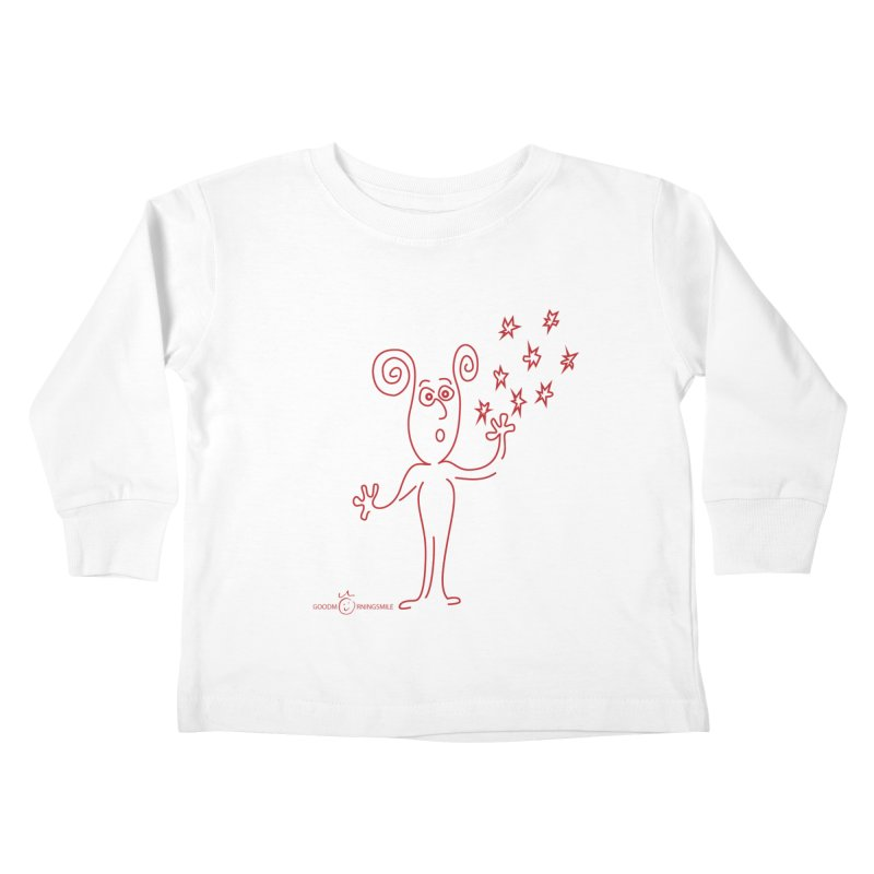 Wondering Kids Toddler Longsleeve T-Shirt by Good Morning Smile