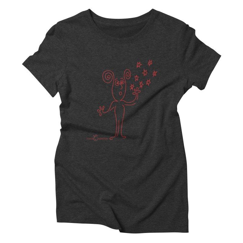 Wondering Women's Triblend T-Shirt by Good Morning Smile