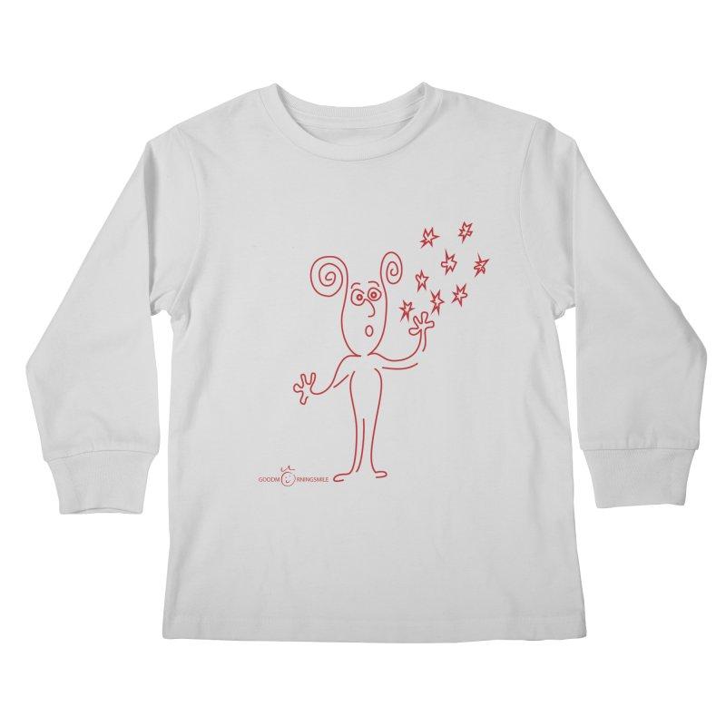 Wondering Kids Longsleeve T-Shirt by Good Morning Smile
