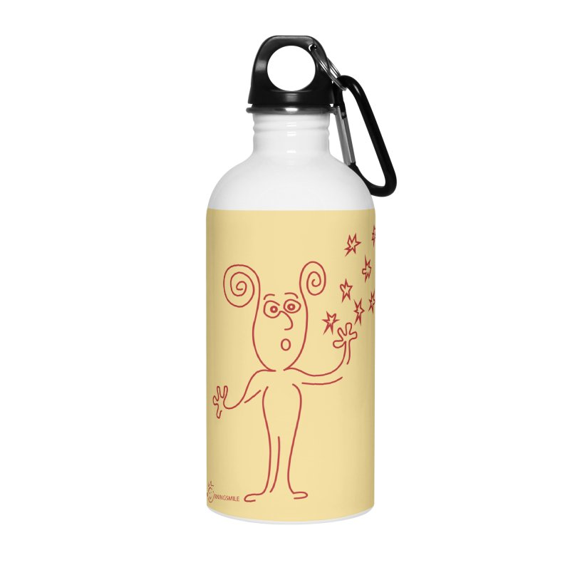 Wondering Accessories Water Bottle by Good Morning Smile