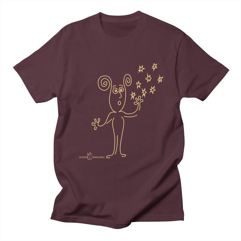 Wondering b Women's Regular Unisex T-Shirt by Good Morning Smile