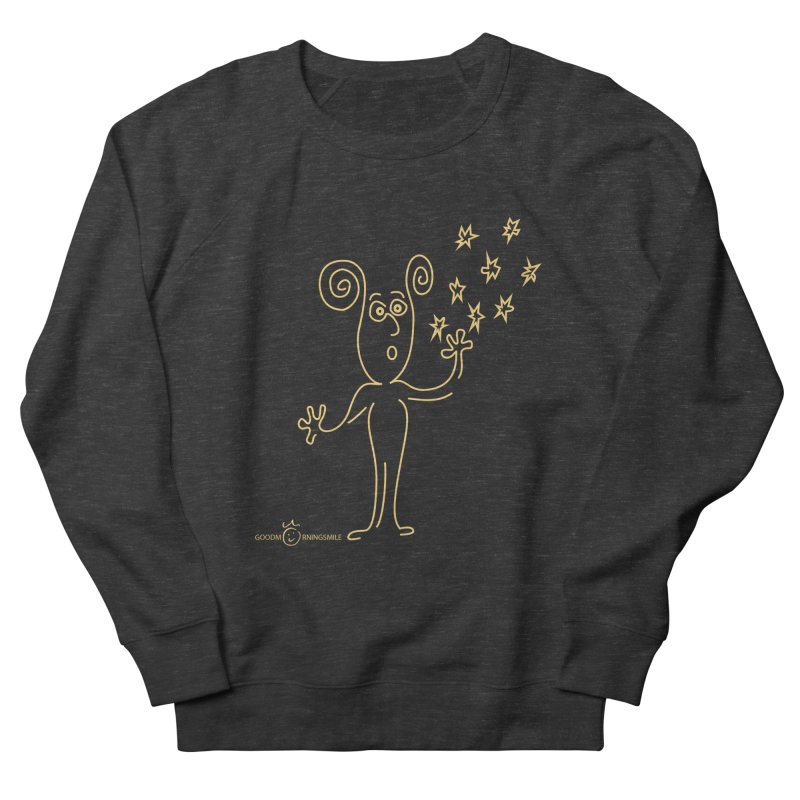 Wondering b Women's French Terry Sweatshirt by Good Morning Smile