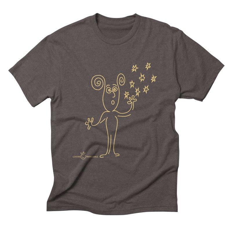 Wondering b Men's Triblend T-Shirt by Good Morning Smile