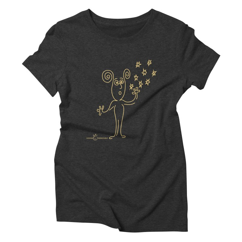 Wondering b Women's Triblend T-Shirt by Good Morning Smile