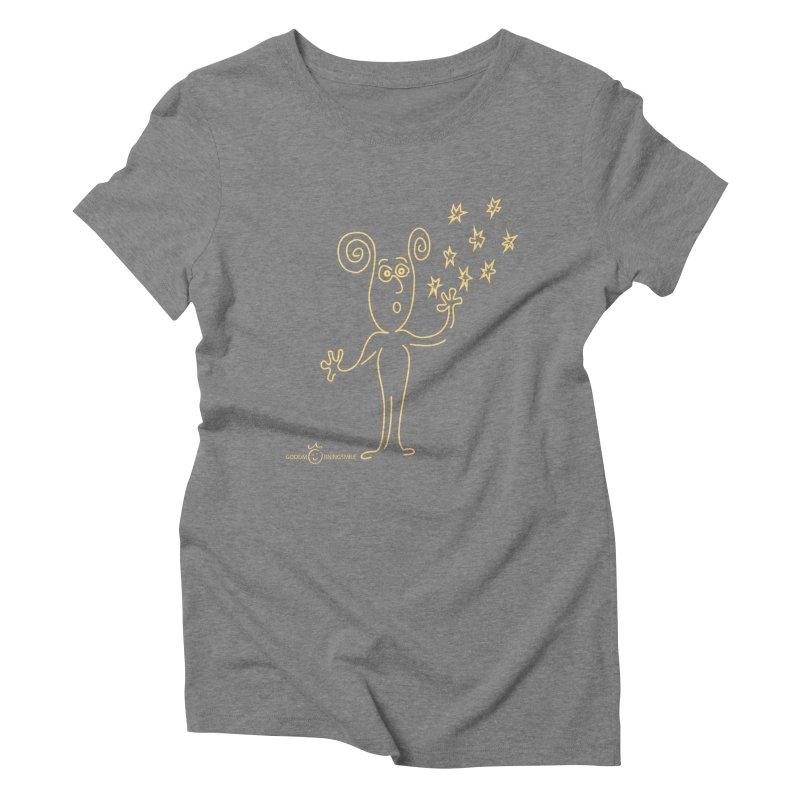 Wondering b Women's Triblend T-Shirt by Good Morning Smile