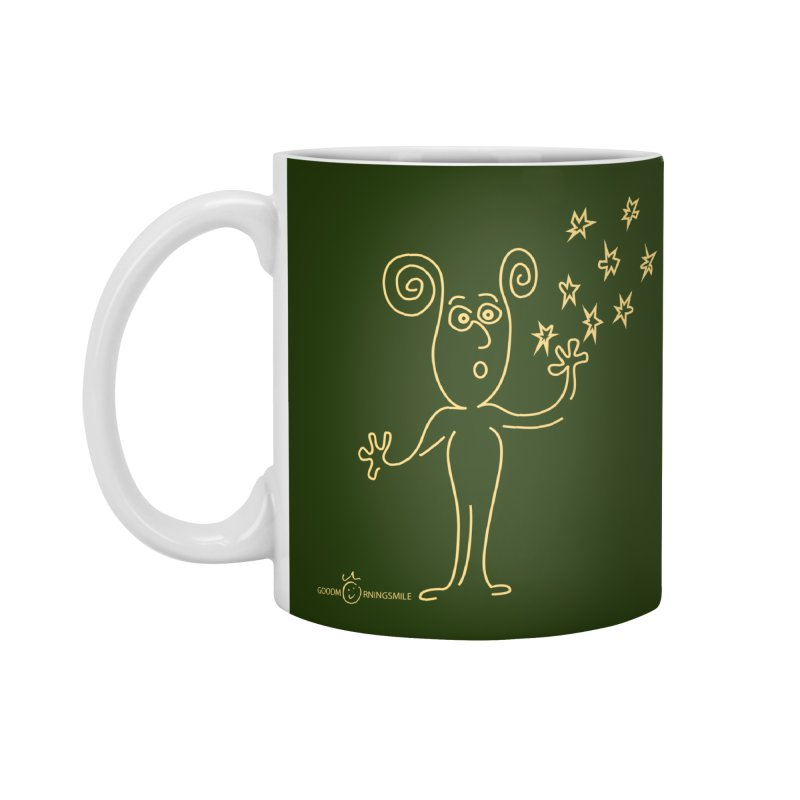 Wondering b Accessories Standard Mug by Good Morning Smile