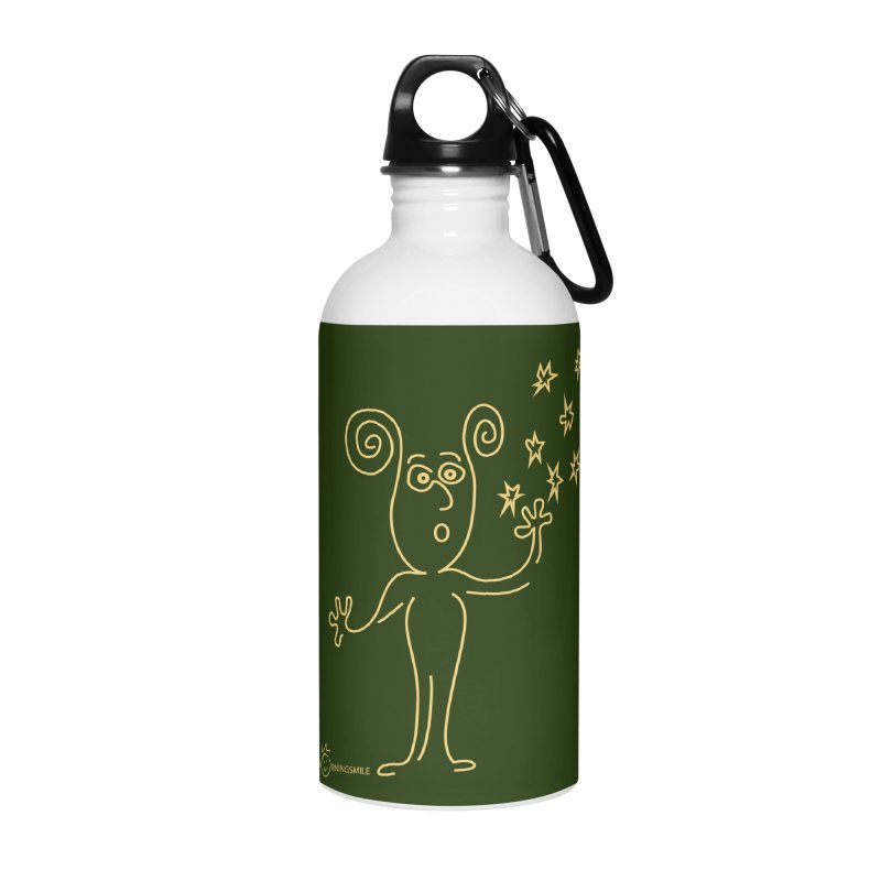 Wondering b Accessories Water Bottle by Good Morning Smile