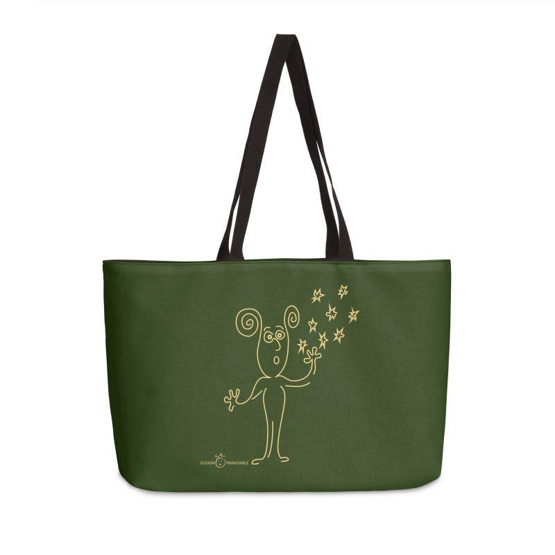 Wondering b Accessories Weekender Bag Bag by Good Morning Smile