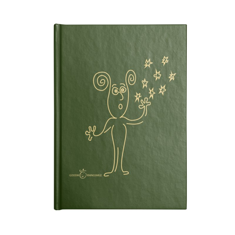 Wondering b Accessories Blank Journal Notebook by Good Morning Smile