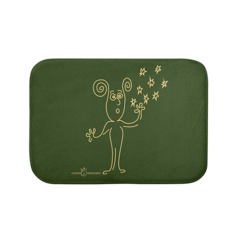 Wondering b Home Bath Mat by Good Morning Smile