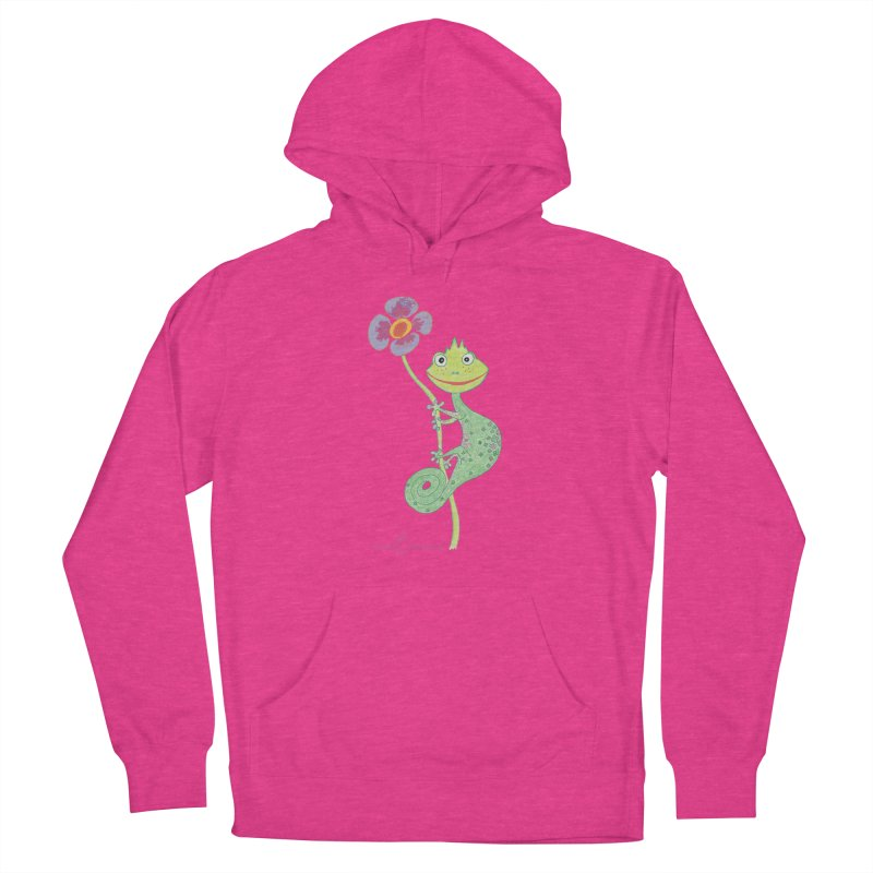 Chameleon Smile Women's Pullover Hoody by Good Morning Smile