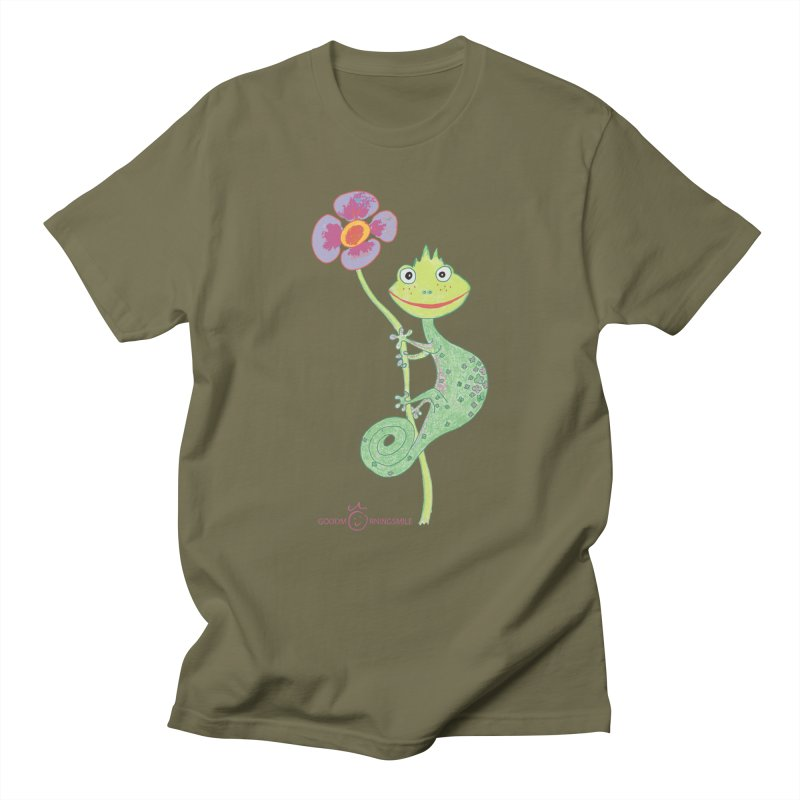 Chameleon Smile Men's T-Shirt by Good Morning Smile