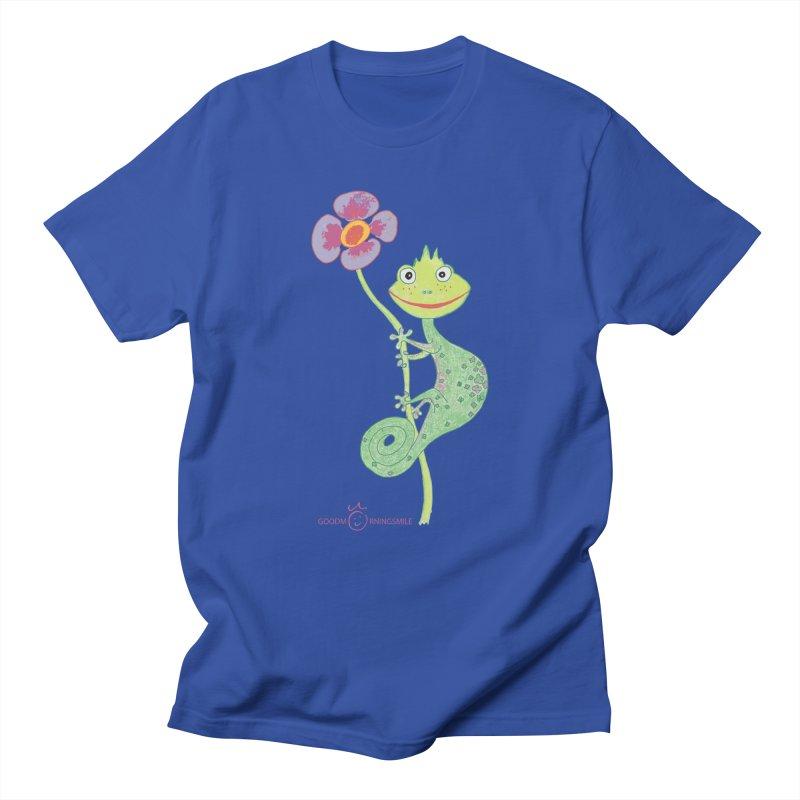 Chameleon Smile Men's T-Shirt by Good Morning Smile