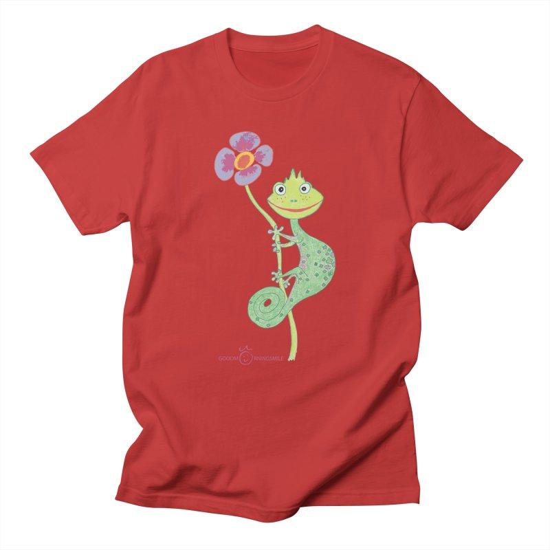 Chameleon Smile Women's Regular Unisex T-Shirt by Good Morning Smile
