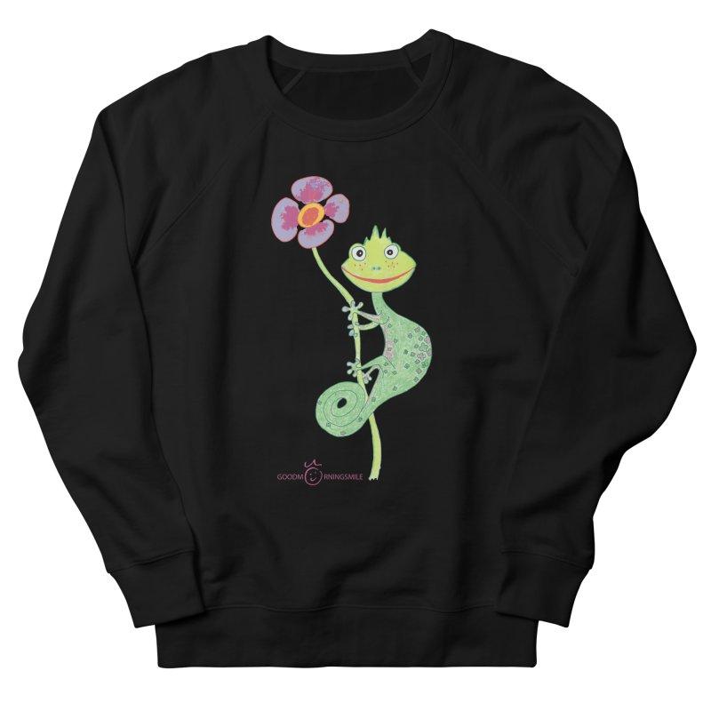 Chameleon Smile Men's Sweatshirt by Good Morning Smile