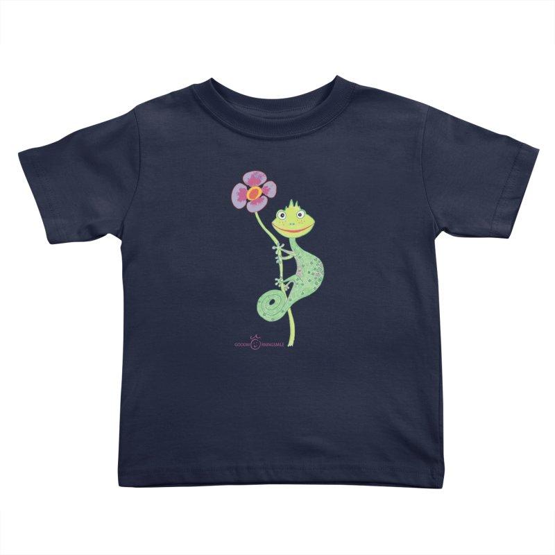 Chameleon Smile Kids Toddler T-Shirt by Good Morning Smile