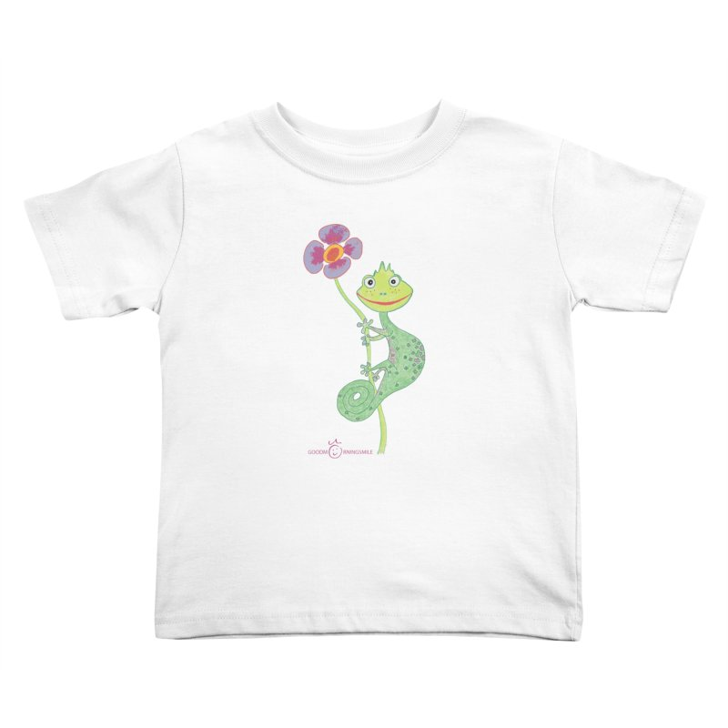 Chameleon Smile Kids Toddler T-Shirt by Good Morning Smile