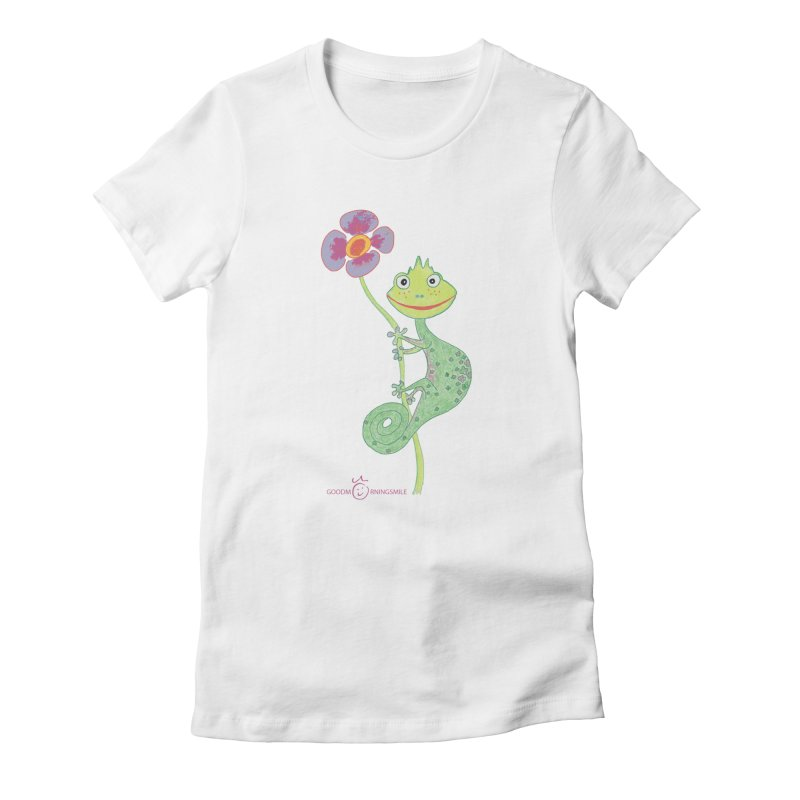 Chameleon Smile Women's T-Shirt by Good Morning Smile